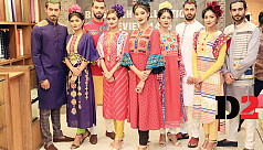 Aarong hosts Boishakh collection preview...