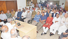 BNP senior leaders in meeting to discuss...