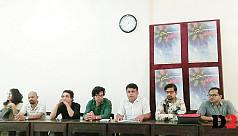 Bangladesh-India drama festival at Rajshahi...