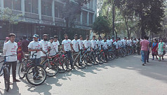 Quota reform seekers bring out bicycle...