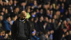 Guardiola fined by FA over  yellow...