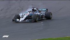 Opportunistic Vettel steals victory...