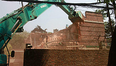 Rajuk starts demolishing Ha-Meem Group...