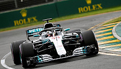 Brilliant Hamilton blazes to Melbourne...