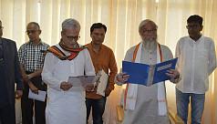 Jishnu Debbarman takes oath as member...