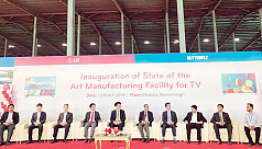 LG, Butterfly set up first ever TV manufacturing facility in Mymensingh