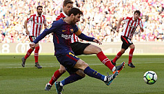 Messi takes Barcelona 11 points clear,...