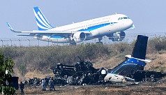 US-Bangla plane crash victim sent to...