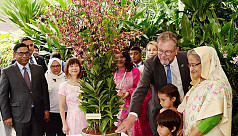 PM unveils Sheikh Hasina orchid in Singapore...