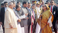 PM Hasina flies to Singapore