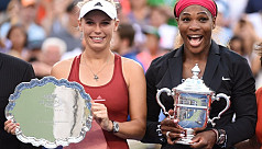 Wozniacki can't imagine Serena-style...