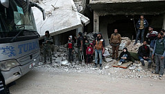 Syrians await new evacuations from second-to-last...