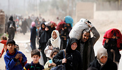 Thousands flee Ghouta rebel enclave...