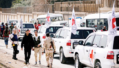 Syria lets aid reach Ghouta but blocks...