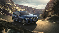 BMW X3 launched in Dhaka