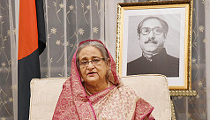 PM Hasina returning home after cutting...
