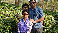 US-Bangla pilot Abid Sultan's wife Afsana...