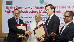 Bangladesh signs $40m development deal with Germany's KfW bank