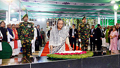 PM pays tribute to Bangabandhu on his...