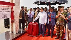 President Abdul Hamid: Swarna Dweep...