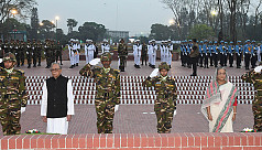 President, PM pay homage to Liberation...