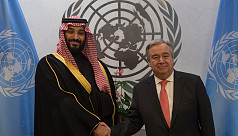 UN chief urges Saudi prince to seek political solution in Yemen