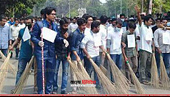 Quota amendment group conduct cleaning drive