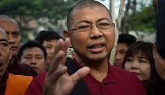 Ultra-nationalist Myanmar monk walks...