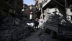Fresh air strikes hit Syria's rebel...