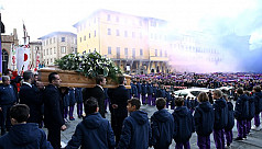 Fans and players say goodbye to Fiorentina...
