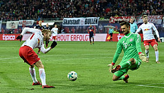Werner fires Leipzig to shock win over...