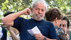Brazil's Lula spends first day in prison,...