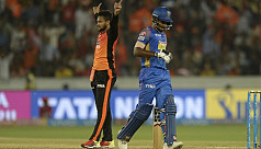 Shakib takes two as Sunrisers cruise...