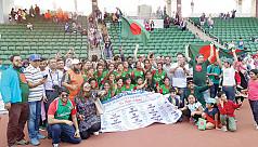 Bangladesh girls clinch title after...