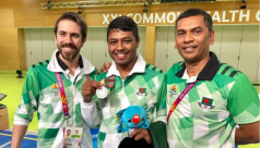 Commonwealth Games: Shakil wins silver...