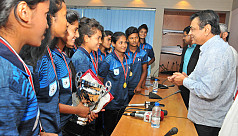 Salahuddin urges triumphant girls to...