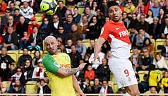 Monaco shore up second place with Nantes...