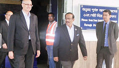 Indian Foreign Secretary Gokhale in...