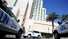 UN team fired on in Syria while visiting...