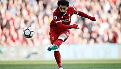 City on verge of title, Salah on target...