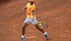 Nadal thrashes Goffin to set up Barca...