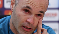 Iniesta to leave Barcelona at the end...