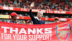 Reaction to Arsenal manager Arsene Wenger's...