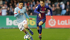 Barca survive Celta fightback to stay...