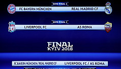 Bayern face Real and Liverpool play...