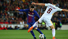 Barca secure big win as Roma...