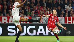 Bayern push past Sevilla into last...
