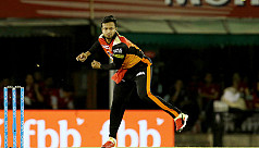 Shakib goes wicketless as Sunrisers...