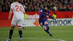 Barca fight back to draw with Sevilla,...