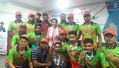 Bangladesh team return home after finishing...